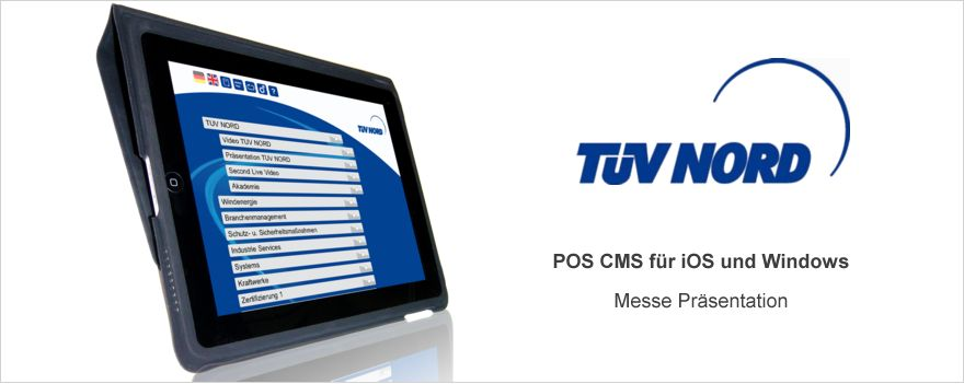 TÜV-NORD IOS and Windows POS CMS System